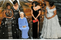 Memes, 🤖, and Nta: nta HotShot the stars of HiddenFigures brought out Nasa's Katherine Johnson 🙏🏽