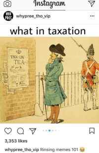 """Memes, Http, and Wot: ntagramV  PREC  whypree_tho vip  what in taxation  TAX: ON  SALE  3,353 likes  whypree tho_vip Rinsing memes 101 <p>SELL NOW! Normies found Wot in ___tion memes via /r/MemeEconomy <a href=""""http://ift.tt/2m3oYSj"""">http://ift.tt/2m3oYSj</a></p>"""