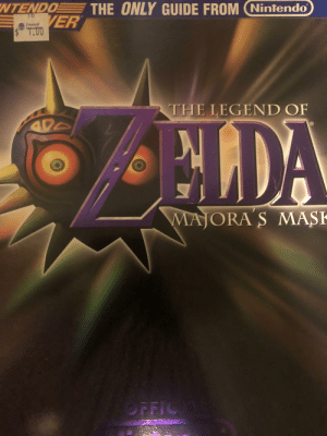 What scared you the most about The Legend of Zelda: Majora's Mask?: NTENDO  THE ONLY GUIDE FROM (Nintendo  VER  Deseret  THE LEGEND OF  NLDA  MAJORA 'S MASK  OPFICIA What scared you the most about The Legend of Zelda: Majora's Mask?