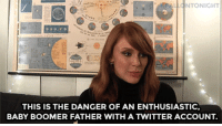 """<p><b>WEB EXCLUSIVE: </b>Bryce Dallas Howard hung out backstage to tell us about the time her dad accidentally leaked Jurassic World details!</p><figure class=""""tmblr-embed tmblr-full"""" data-provider=""""youtube"""" data-orig-width=""""540"""" data-orig-height=""""304"""" data-url=""""https%3A%2F%2Fwww.youtube.com%2Fwatch%3Fv%3DppnK4MdWICg""""><iframe width=""""540"""" height=""""304"""" src=""""https://www.youtube.com/embed/ppnK4MdWICg?feature=oembed"""" frameborder=""""0"""" allowfullscreen=""""""""></iframe></figure>: NTONIGHT  THIS IS THE DANGER OF AN ENTHUSIASTIC,  BABY BOOMER FATHER WITH A TWITTER ACCOUNT <p><b>WEB EXCLUSIVE: </b>Bryce Dallas Howard hung out backstage to tell us about the time her dad accidentally leaked Jurassic World details!</p><figure class=""""tmblr-embed tmblr-full"""" data-provider=""""youtube"""" data-orig-width=""""540"""" data-orig-height=""""304"""" data-url=""""https%3A%2F%2Fwww.youtube.com%2Fwatch%3Fv%3DppnK4MdWICg""""><iframe width=""""540"""" height=""""304"""" src=""""https://www.youtube.com/embed/ppnK4MdWICg?feature=oembed"""" frameborder=""""0"""" allowfullscreen=""""""""></iframe></figure>"""