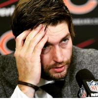 A Jay Cutler-signed football at a charity auction got zero bids: NTR A Jay Cutler-signed football at a charity auction got zero bids