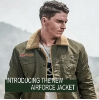 NTRODUCING THE NEW  AIRFORCE JACKET We are stoked to announce that @outdoorguerrilla just launched their new *** Air Force Winter Jacket *** . They have limited stock, discounted at 68% OFF, don't miss this unique, one of a time offer. . Get your item at 🔥🔥 LINK IN BIO 🔥🔥 . Oh yeah, Free Worldwide Shipping on ALL items!!! tactical outdoors tacticalgear army military milsim