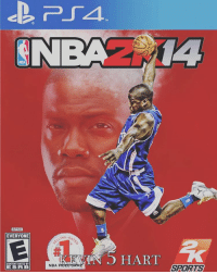 Memes, 🤖, and Hart: NTSC  EVERYONE  CONTENT RATED BY  ESFR B  LING.  R.  NBA  5 HART  SPORTS Rate this cover 1-10! Comment 👇👇 Via: DM for credit Tags: NBA Hart KevinHart