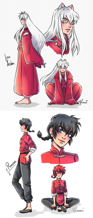 mofunarisblog:  Hi and hello. I currently started rewaching InuYasha and it revived my love and obsession for Rumiko Takahashi Manga/Anime. So I immediately had to draw my very first Anime boyfriends~ <3 : nu   Ronma  Roaur  2  Mlwars  unam mofunarisblog:  Hi and hello. I currently started rewaching InuYasha and it revived my love and obsession for Rumiko Takahashi Manga/Anime. So I immediately had to draw my very first Anime boyfriends~ <3