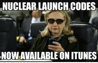 Memes, iTunes, and 🤖: NUCLEAR LAUNCH CODES  NOWAVAILABLE ON ITUNES -Rolling Thunder