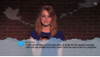 """<p>mean tweets via /r/dank_meme <a href=""""http://ift.tt/2Hg6Ko9"""">http://ift.tt/2Hg6Ko9</a></p>: @nugbone  i want emma stone as my anal slave ill make her do squats everyday  until she get perfect ass every night i fuck her ass to test her progress <p>mean tweets via /r/dank_meme <a href=""""http://ift.tt/2Hg6Ko9"""">http://ift.tt/2Hg6Ko9</a></p>"""
