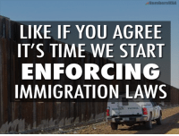 Extremely Pissed off RIGHT Wingers 2: NumbersUSA  LIKE IF YOU AGREE  IT'S TIME WE START  ENFORCING  IMMIGRATION LAWS Extremely Pissed off RIGHT Wingers 2