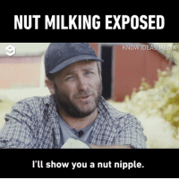 Dank, 🤖, and Media: NUT MILKING EXPOSED  KNOW IDEAS MEDIA  l'll show you a nut nipple.