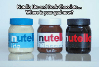 Tumblr, Blog, and Nutella: Nutella Lite and Dark Chocolateb.o  utel nutell hute  TERRERO  fa epicjohndoe:  Nothing Will Be The Same Now