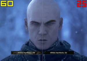 laughoutloud-club:  R : Real T : Time X : Disappointment: NVIDIA HairWorks: Off  NVIDIA HairWorks: On laughoutloud-club:  R : Real T : Time X : Disappointment