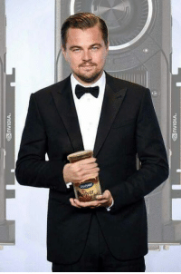 "Memes, Oscars, and Good: nVIDIA.  K2 nVIDIA. Leo was seen in Macedonia with something he allegedly called ""better than an Oscar"". - Credit goes to my good mate Zlatko Stefkovski"