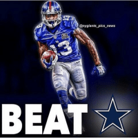 @ny giants pics news  BEAT r NewYorkGiants, DallasCowboys, SundayNightFootball, GiantsPride, LetsGoBigBlue @nygiants_pics_news