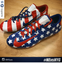 Odell Beckham Jr., Sports, and Giant: ny  @NY Giants  Odell Beckham Jr. is wearing these customized cleats today to honor the U.S. military. SaluteToService 🇺🇸🇺🇸🇺🇸