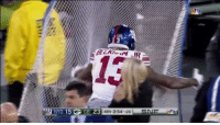 Nfl, Ups, and Net: NYG 15 G  GB 23  4th 2:54 25  SN Odell and the kicking net have made up! 😂😂😂