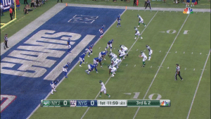 Memes, Nfl, and Free: NYJ O Ly NYG O  3rd & 2  1st 11:59 :21 Darnold starts 4-for-5 with 68 yards and this TD to Jamison Crowder! #NYJvsNYG  📺: @nflnetwork Watch free on the NFL app: https://t.co/tOvsgatvUX https://t.co/zS0n33LFNu