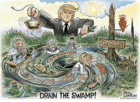 Memes, 🤖, and Soros: NYT  DRAIN THE SWAMP!  SOROS  BE  GARRISON Get ER Done President Trump~CajunSpice