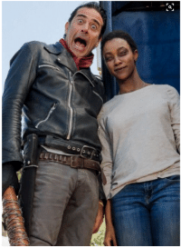 Martin, Memes, and The Walking Dead: O  0002 0 The Walking Dead: Compendium Three  http://amzn.to/2pyEbcY  Sonequa Martin-Green and Jeffrey Dean Morgan behind the scenes of The Walking Dead Season 7 Episode 16  ••►◖ Help This Page Grow. LIKE✔SHARE✔TAG✔◗ ◄••