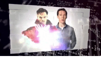 Benedict Cumberbatch talks The Multiverse in this new DOCTOR STRANGE promo!  (Andrew Gifford): O 1-2  X  a Benedict Cumberbatch talks The Multiverse in this new DOCTOR STRANGE promo!  (Andrew Gifford)