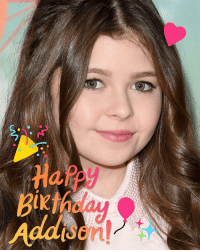 We're wishing Thundermans' @AddisonRiecke a super-powered happy birthday! ⚡️🎂 hbd: o  1K  A  e ccc  e.  n We're wishing Thundermans' @AddisonRiecke a super-powered happy birthday! ⚡️🎂 hbd