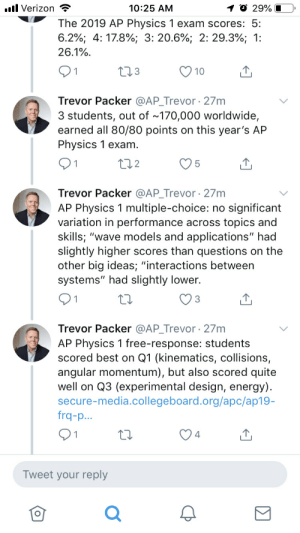 Ap Physics 1 Exam What Can The Student Do To Prove Their