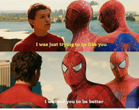 Who's your favorite Spiderman and who's your favorite Peter Parker?🕷🕸🕷 Pic via: @comic.book.savage spiderman spidermanhomecoming amazingspiderman spiderman2 peterparker tomholland andrewgarfield tobeymaguire captainamericacivilwar marvel avengers avengersinfinitywar infinitywar emmastone gwenstacy maryjane spiderman3: o be e you  I was just t  I wanted you to be better Who's your favorite Spiderman and who's your favorite Peter Parker?🕷🕸🕷 Pic via: @comic.book.savage spiderman spidermanhomecoming amazingspiderman spiderman2 peterparker tomholland andrewgarfield tobeymaguire captainamericacivilwar marvel avengers avengersinfinitywar infinitywar emmastone gwenstacy maryjane spiderman3
