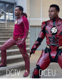 Memes, Movies, and Suits: O Ben Rogers Pho From @new_element_studios - (DCTV Vs DCEU) I always see @world_of_flash_ doing these side by sides with the actors, giving it a try with these suits, which suit was your favorite ?☝🏽⚡️ theflash barryallen grantgustin thecw justiceleague ezramiller justiceleaguemovie dctv dceu dccomics costume movies television show