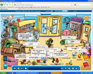 your childhood appearing for the first time in 2020: O Club Penguin - Mozilla Firefox  History Bookmarks  File Edit View  Tools  Help  3- Google  http://play.clubpenguin.com/index.php?lang=en  P Most Visited  Getting Started A Latest Headlines e Study Island Session  Club Penguin - Genera..  O Study Island - Online .  A Club Penguin  Select Language: English  Small Screen-  Log Off  Website Home   What's New    Help   Parents    Membership  NEWS  MO  PETTOYS  EXIT  CLOSED  FOOD  EMPLOYEES  NO PET SHOP IS  FOR PUFFLES AND  BAY BEES  coOD  ok  wugz  gik u  crawls  JetskI H  Maieumoly  Spunkylumpy  doney1  holds in arms Ne es4025  aguisynicola  my iggy  Oleat 3  T pick you  THE PET SHOP ISHI there  Shuok1999  SpaRe75996 FOR  PETS!!!!!!!!!! AY  opens big blue eyes  no ito the world  !!!  Danni11  BEES!!!!!!!!  THEY RUIN  CP!!!!!!!!!!!!!!!!  PETS  NO BAY BEES  VaKemonfairy97 Gigkty  ENlai WL22468  hado42732  Deli41  Zyan567  Roxanne King  Sensei Jr87Baulinka 1  Rump90656  PETS  VolcomSer 157  MAP  aphef  e O 92E 3:56 PM  start  R HP PSC 1500 series -...  O Club Penguin - Mozilla...  O Automatic Updates  A Windows Live Messen...  Desktop your childhood appearing for the first time in 2020