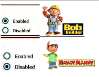 <p>Billions of years have led to this moment</p>: O Enabled  O Disablecd  Bot  Biilder  the  O Enabled  O Disabled  HANDY MANNY <p>Billions of years have led to this moment</p>