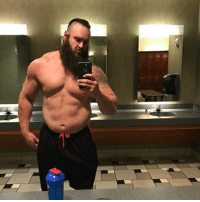 Holy shit look at Braun Strowman!  he looks like a legit fucking monster!  -Hero: o Holy shit look at Braun Strowman!  he looks like a legit fucking monster!  -Hero