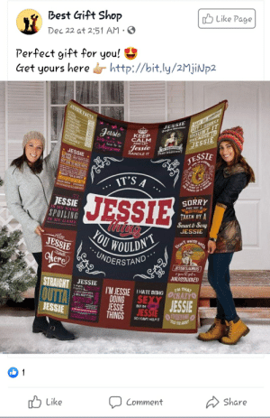 They're getting stronger: O Like Page  Best Gift Shop  Dec 22 at 2:51 AM · O  Perfect gift for you!  Get yours here s http://bit.ly/2MjiNp2  TMAY BE WRONG  BUT I HIGHLY  DOUBT IT  BECAUSE IM  JESSIE  JESSIE FACTS  LOYA  PERSISTENT 20  JESSIE  Perfect minture  Jessie  KEEP  ERANCE 17O  WESOME  DEPENOABLE  CALM  AND LET  O FAINCESS  AND WARNIONS  brut te  Awesome  Jessie  120%  * JESSIE *  HANDLE IT  JESSTE  of A MER  REAZ WEN FONO  SOut  E 10 MESS WITH.  IT'S A  &SWEE  ATONE MOSITOS THE TIME  THE MOUTH OL a satOR  AWAZNS  SPONTAREOS  SORRY  JESSIE  JESSIE  IS MY NAME  THIS GUY  ALREAD  TAKEN BY A  Smart & Sexy  SPOILING  IS MY GAME  Thine  OU WOULDN  * UNDERSTAND  JESSIE  With  -rêtax,  JESSIE  Don't mese  Here  JESSIESAURUS  * you ll get  JURASSKICKED  STRAIGHT  JESSIE  1. Highly  Focentric  BOLD SINCE DIRTH  4. WILL KEEP IT REAL  IM THAT  CRAZY  I'M JESSIE  DOING  JESSIE  THINGS  Tourh  THATE BENG  OUTTA  SEXY  JESSIE  JESSIE  OUANENTI  BUT IM  JESSIE  wetheart  0AVERYONE  TOLD YOU ABOUT  Say e mont warriur  SOI CANT HELPIT  Share  Comment  ל Like They're getting stronger