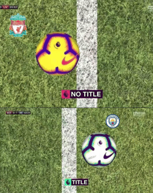 Being Alone, Club, and Football: O LIV 20:52  YOULL NEVER WALK ALONE  LIVERPOOL  FOOTBALL CLUB  EST 1892  NO TITLE   BUR O-1 MC 64:03  sh  CITY  TITLE Even the goal line technology doesn't want Liverpool to win the league https://t.co/l4TdZ8wT5p