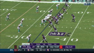 Lamar Jackson can't stop throwing dimes 🎯  33-yard TD to @Willie_Snead4G! #BALvsMIA @lj_era8  📺: CBS 📱: NFL app // Yahoo Sports app  Watch on mobile: https://t.co/PoZiStO3mL https://t.co/R0Ys96PCWE: O NFL  2NO &8  YARDS  100  RUSH  PASS  163  A BAL 21  MIA  2ND 13:57 5  2ND & 8  NFL ATL  K. COUSINS: 4/5, 38 YDS, TD  0  MIN  14 2ND 12:22 Lamar Jackson can't stop throwing dimes 🎯  33-yard TD to @Willie_Snead4G! #BALvsMIA @lj_era8  📺: CBS 📱: NFL app // Yahoo Sports app  Watch on mobile: https://t.co/PoZiStO3mL https://t.co/R0Ys96PCWE