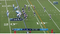 Memes, Nfl, and Wow: O NFL  AFC DIVISIONAL  84  2nd & 6  TEN O アNE O 1ST 1:22 71 2ND & 6  2 This was just... WOW.  Marcus Mariota with the dime. @TheCDavis84 with the one-handed grab!  #TitanUp #NFLPlayoffs https://t.co/RdK6XmtCoV