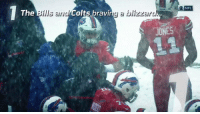 Indianapolis Colts, Memes, and Nfl: O NFL  The  ills arid  Colts bravi  a blizzaro  JONES Seven reasons why Week 14 was AWESOME! https://t.co/hdQnLA1Exm