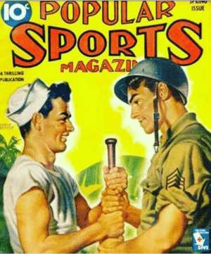 alternate-route:This just screams gay trying to be straight. Popular sports magazine? Only a gay would have to be so vague about sports: O POPULAIR  ISSUE  PORT  TNAILINS MAGAZD  UBLKATION alternate-route:This just screams gay trying to be straight. Popular sports magazine? Only a gay would have to be so vague about sports