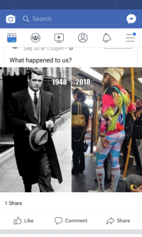 Search, Freedom, and Forwardsfromgrandma: O Search  What happened to us?  19482018  1 Share  Comment  Share
