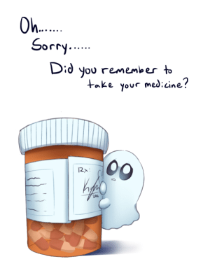 cosplaykissesandprettyfaces: operation-chara:  kaylonsartblog:  Napstablook sending you a medicine reminder! :D  We NEED MORE OF THESE  @sad-ghost-friend have u : O....  Sorry.  Did you remember to  take your med:cine?  00  2010 cosplaykissesandprettyfaces: operation-chara:  kaylonsartblog:  Napstablook sending you a medicine reminder! :D  We NEED MORE OF THESE  @sad-ghost-friend have u