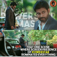 #Pawankalyan Ee scene and next fight <3: O SPAGEVLLENTERT  THAT ONE SCENE  WHERE SCREEN PRESENCE  OF POWERSTAR  DOMINATED EVERYTHING #Pawankalyan Ee scene and next fight <3