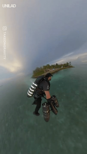 Dank, Iron Man, and 🤖: O TAKEONGRAVITY An Iron Man-style jet suit is only way you should see the Maldives... 🙌🇲🇻