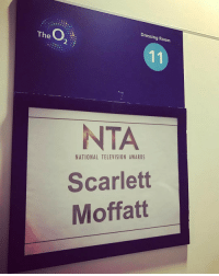 Memes, Television, and 🤖: O  The 2  Dressing Room  NTA  NATIONAL TELEVISION AWARDS  Scarlett  Moffatt @OfficialNTAs wow wow wow!! Never in my wildest dreams did I ever think I would have my own dressing room at the 02. Backstage presenting & head of social media!! I can't believe it ❤ ntas dream