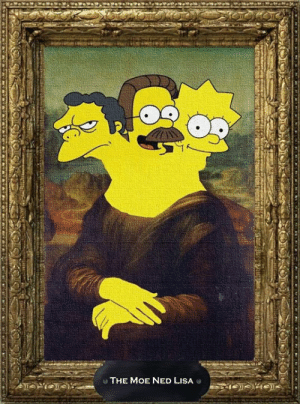 Made by Adam Rutgers: O THE MOE NED LISA Made by Adam Rutgers