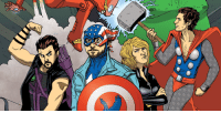 Memes, Avengers, and Http: o This is probably my favorite It's Always Sunny in Philadelphia drawing ever.  See the entire poster at: http://www.itsalways.com/picture/philadelphia-avengers  #AWESOME