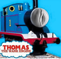 -Commie: O  THOMAS  THE WANK ENGINE -Commie