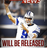 """Memes, 🤖, and Adam: O TONY ROMO DALLAS COWBOYS Repost @sportscenter: """"BREAKING: The Cowboys will release TonyRomo on Thursday, sources told Adam Schefter and Todd Archer."""" 👀 WSHH"""