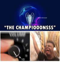 """Memes, Champions League, and Back: O TrollFootball  """"THE CHAMP1000NSSS""""  10 The Champions League is back 😍 https://t.co/XNPn0DPv7w"""