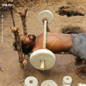 Dank, Gym, and Tube: o TUBE UNIQUE WILDERNESS This guy made his own gym, the primitive way 💪  Tube Unique Wilderness