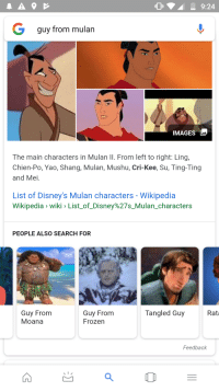 O9924 G Guy From Mulan Images The Main Characters In Mulan Il From Left To Right Ling Chien Po Yao Shang Mulan Mushu Cri Kee Su Ting Ting And Mei List Of Disney S Mulan Characters