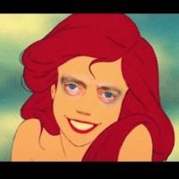 THIS is what happens when you put Steve Buscemi's eyes on Ariel The Little Mermaid.