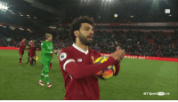 Soccer, Live, and Him: oa  season and  AB  BT Sport 1HD LIVE Mo Salah apologised to the Watford keeper after scoring four past him 😂😭😂 https://t.co/6RsieJuHsr
