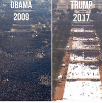 Memes, 🤖, and Closet: OBAMA  2009  TRUMP  2017 Where the party at? Guess the Trump supporters are watching from their closets. 😂. Pic repost from @raqcsworld
